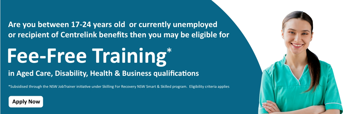 Fee Free Training in Aged Care and Disability